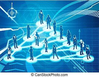 Viral Marketing Business Konzept