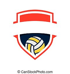 volleyball, logo
