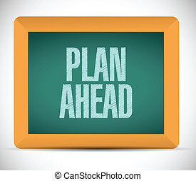 voraus, nachricht, design, plan, abbildung