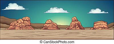 wüste, hintergrund