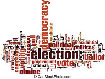 Wahlwortwolke