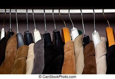 Wardrobe dichtmachen horizontaler Schuss.