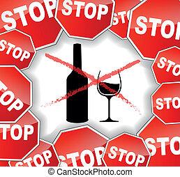 Warn Alkohol.