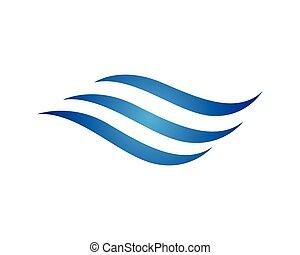 Wasserwellen-Logo.