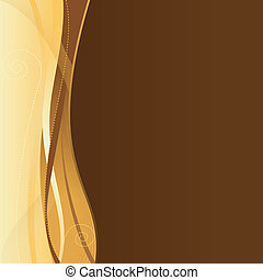 web, schablone, space., geschaeftswelt, gold, brauner, korporativ, kopie