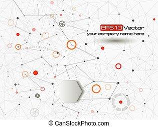 Web- und mobile Interface-Grafik