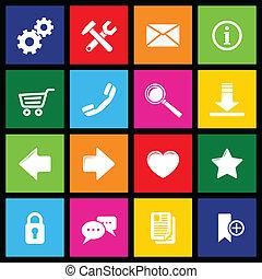 Website Icons Metro.
