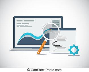 Website SEO Analyse und Prozess fl.