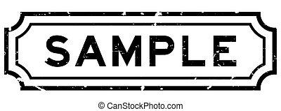 weißes, briefmarke, schwarz, probe, grunge, siegel, hintergrund, geschaeftswelt, wort, gummi