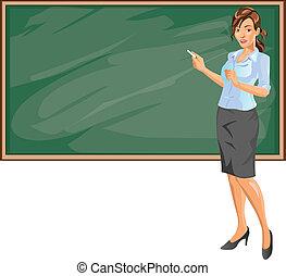 Weibliche Lehrerin