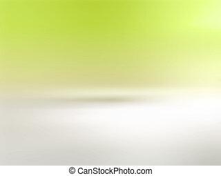 Weichgrüner Hintergrund.