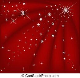 weihnachten, rotes , magisches