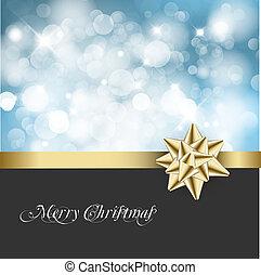 Weihnachts-Strauß-Hintergrundkarte