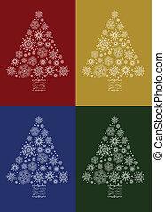 Weihnachtsbaum-Set