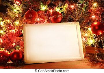 Weihnachtsbeleuchtungsrahmen