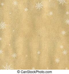 Weihnachtsgeschichte mit Schneeflocken