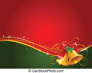 Weihnachtsglocken im Hintergrund
