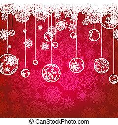 Weihnachtskarte, Winterferien. EPS 8