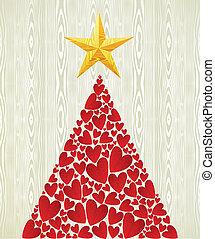 Weihnachtsliebe ist ein Baum