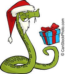 Weihnachtsmannschlange