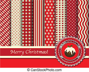 Weihnachtsschrot und Sahne
