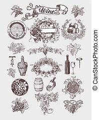 Wein und Weinherstellung.