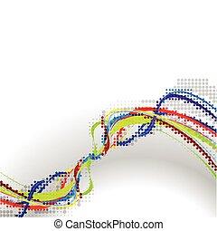 Wellen-Hintergrundzusammensetzung deaktivieren