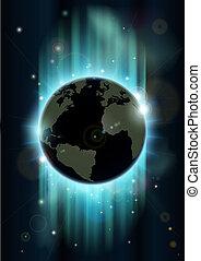 Weltall-Raum-Rückgrou abschaffen