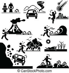 weltgericht, katastrophe, katastrophe