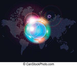 Weltkartenfarben.