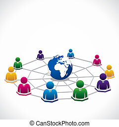 Weltweit verbunden