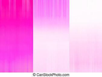 White,pink, Farbe Streifenbewegung verschwommen abstrakt.