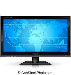 Widescreen-TFT-Display