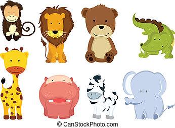 Wildtiere Cartoons