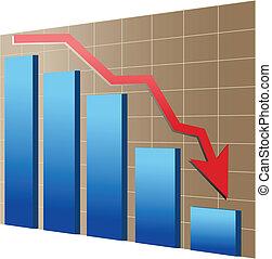 wirtschaftlich, finanziell, oder, krise