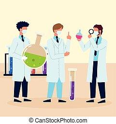 wissenschaftler, wissenschaft, laboratorium