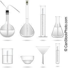 Wissenschaftliche chemische Laborausrüstung