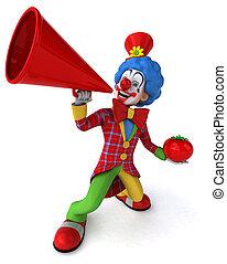 Witziger Clown.