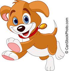 Witziger Hund