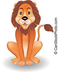 Witziger Löwe