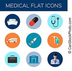 wohnung, medizin, ikone