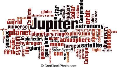wolke, jupiter, wort