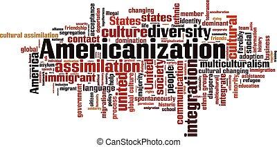 wolke, wort, americanization