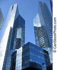 Wolkenkratzer abstrakt