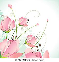Wunderschöne Blume