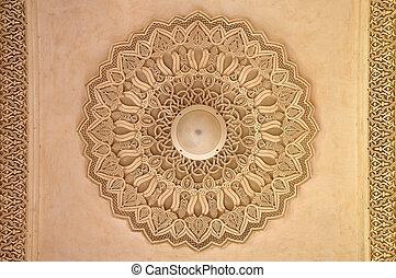 Wunderschöne marokkanische Architektur.