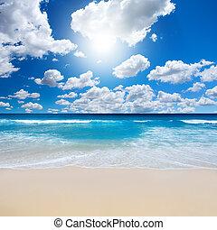 Wunderschöne Strandlandschaft