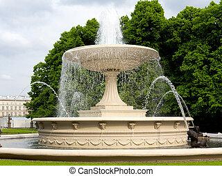 Wunderschöner Brunnen.