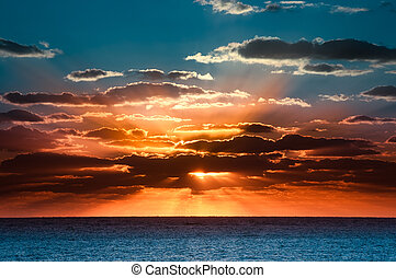 Wunderschöner Sonnenaufgang