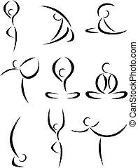 Yoga-Art-Symbol